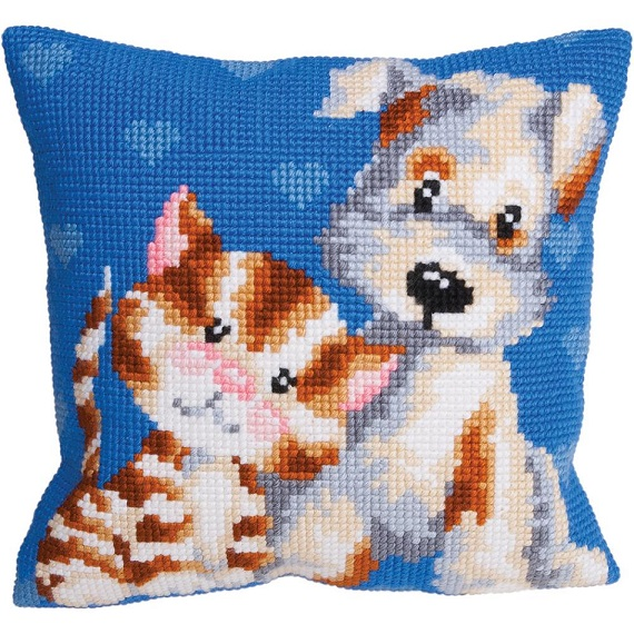 click here to view larger image of Amis (Friends) (needlepoint)