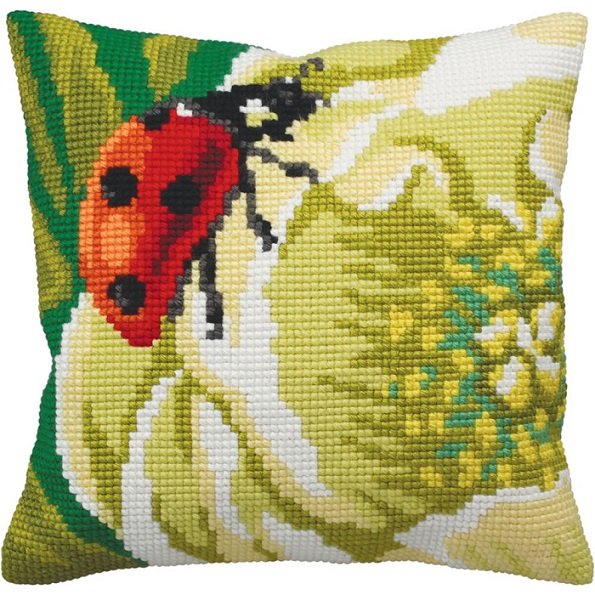 click here to view larger image of Coccinelle (Ladybug) (needlepoint)
