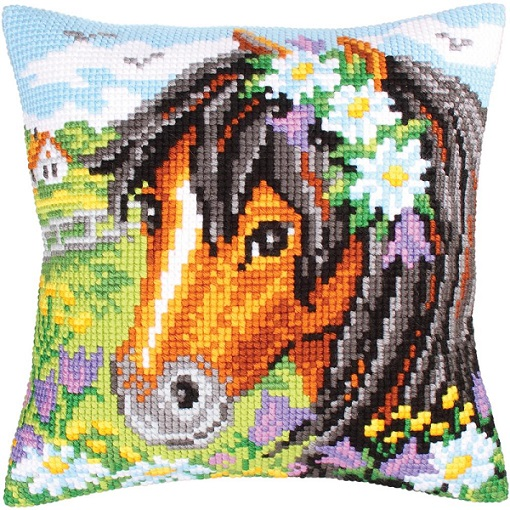 click here to view larger image of Daisy Chain (needlepoint)