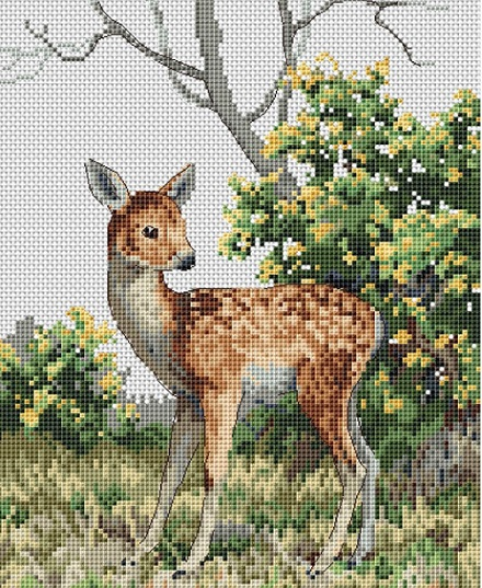 click here to view larger image of Little One (counted cross stitch kit)