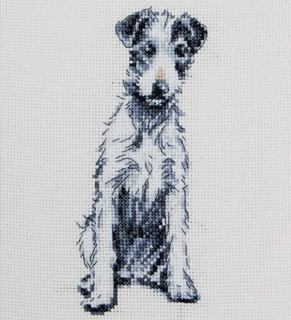 click here to view larger image of Barney (counted cross stitch kit)