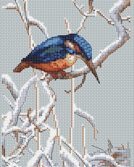 click here to view larger image of Let It Snow (counted cross stitch kit)