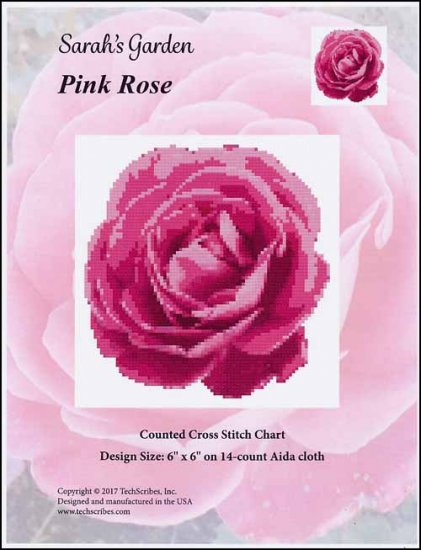 click here to view larger image of Pink Rose (chart)
