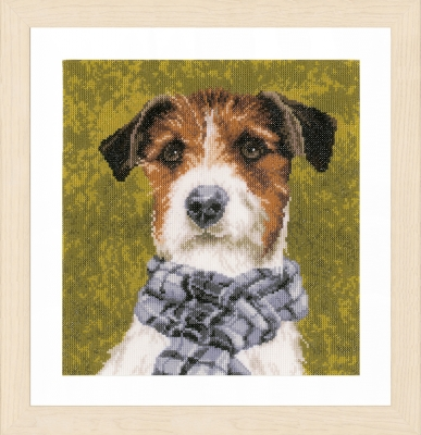 click here to view larger image of Dog by Marjolein Bastin (counted cross stitch kit)