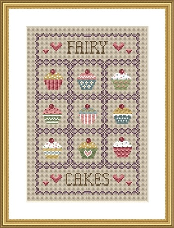 click here to view larger image of Fairy Cakes (chart)