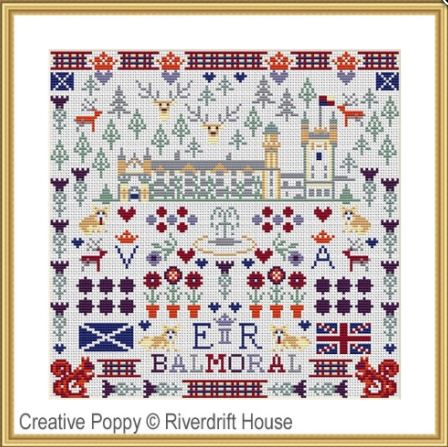 click here to view larger image of Balmoral Castle (counted cross stitch kit)