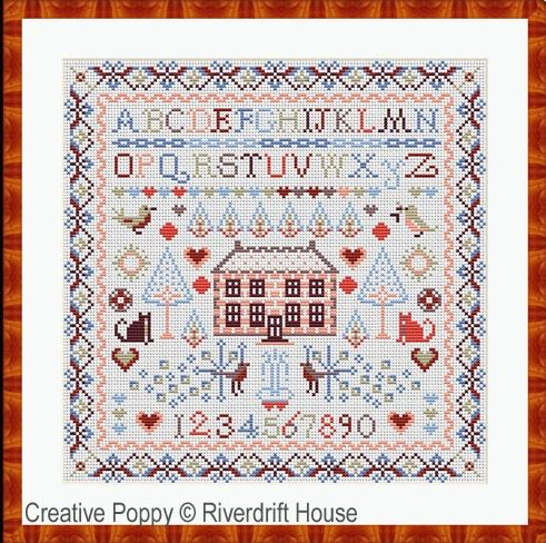 click here to view larger image of Big House 2 (counted cross stitch kit)