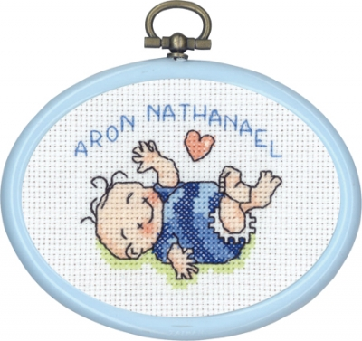 click here to view larger image of Aron 3 (counted cross stitch kit)