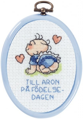 click here to view larger image of Aron 2 (counted cross stitch kit)