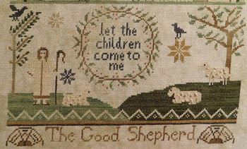 click here to view larger image of Jenny Bean Parlor 4 - The Good Shepherd (chart)