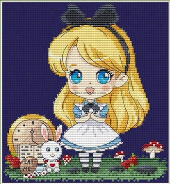 click here to view larger image of Alice and the Rabbit (chart)