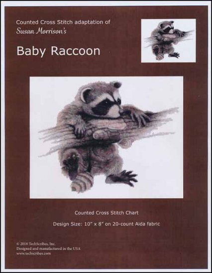 click here to view larger image of Baby Raccoon (chart)