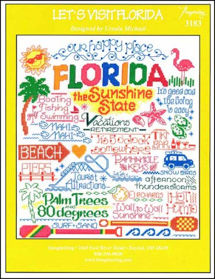 click here to view larger image of Let's Visit Florida (chart)