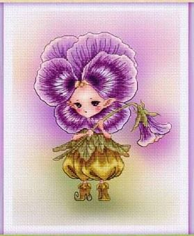 click here to view larger image of African Pansy Sprite (chart)