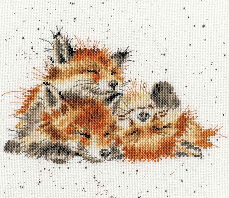 click here to view larger image of Afternoon Nap (counted cross stitch kit)