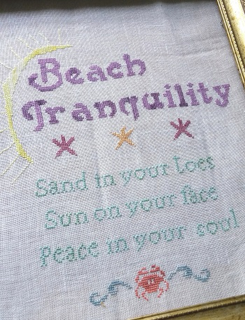 click here to view larger image of Beach Tranquility (chart)
