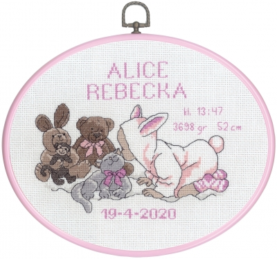 click here to view larger image of Alice (counted cross stitch kit)