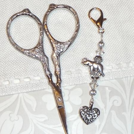 click here to view larger image of Elephant Dance Scissor Fob (accessory)
