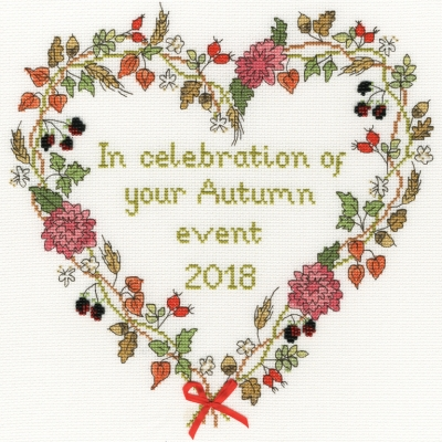 click here to view larger image of Autumn Celebration  (counted cross stitch kit)