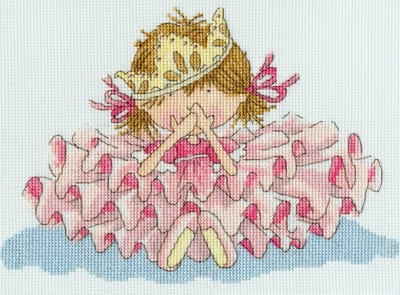 click here to view larger image of All Fall Down ! (counted cross stitch kit)