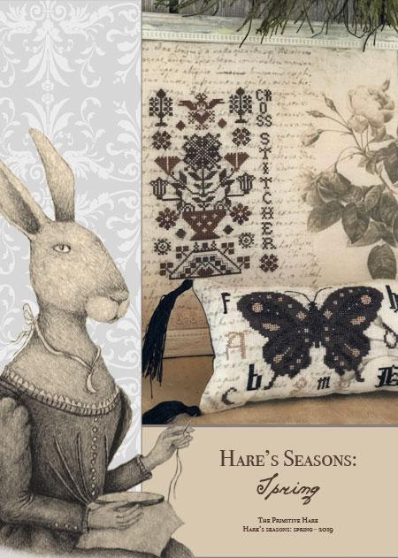 click here to view larger image of Hares Seasons Spring (book)