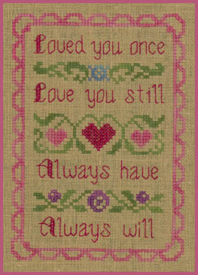click here to view larger image of Love You (chart)