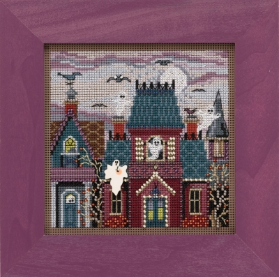 click here to view larger image of Ghost Town (2019) (counted cross stitch kit)