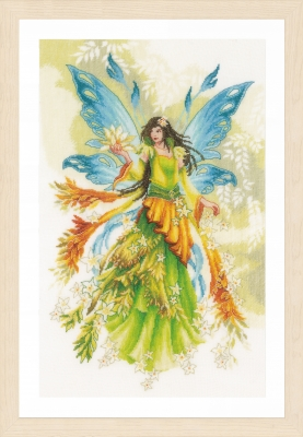 click here to view larger image of Fantasy Elf Fairy (counted cross stitch kit)