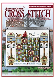 click here to view larger image of Stoney Creek Cross Stitch Collection - 2019 Spring (magazines)