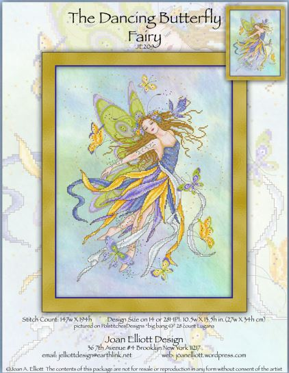 click here to view larger image of Dancing Butterfly Fairy, The (chart)