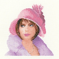 click here to view larger image of Harriet Miniature (counted cross stitch kit)