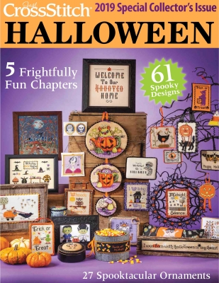 click here to view larger image of Just Cross Stitch Halloween -  2019 Special Collector's Issue (magazines)