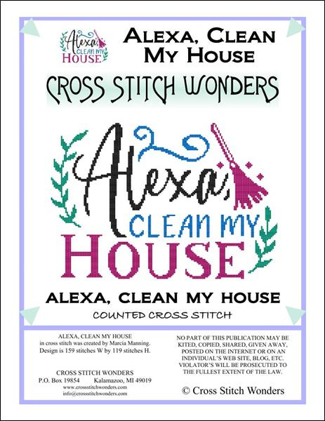 Alexa Clean My House - click here for more details about chart