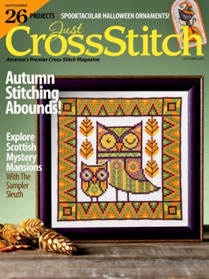 Just Cross Stitch September/October  -  2019 - click here for more details about magazines