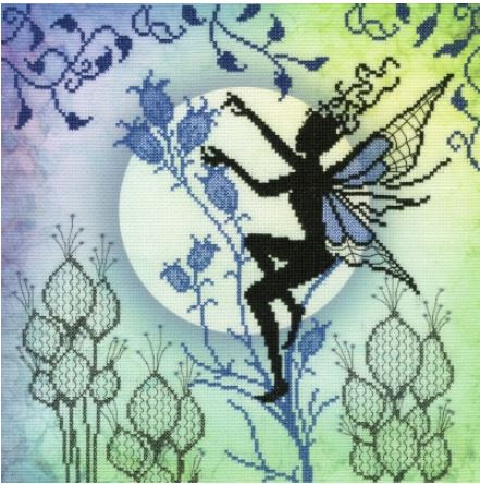 click here to view larger image of Harebell - Lavina Stamps Fairies  (counted cross stitch kit)