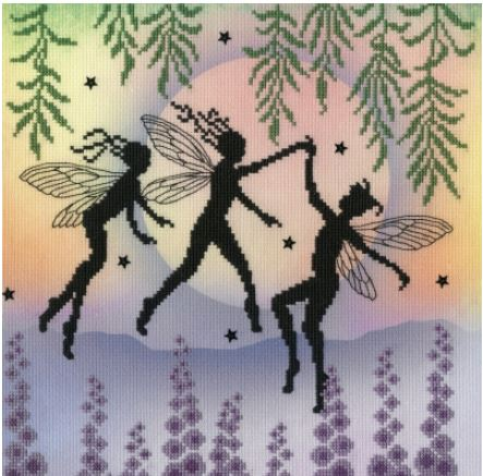 click here to view larger image of Fairy Dance - Lavina Stamps Fairies  (counted cross stitch kit)