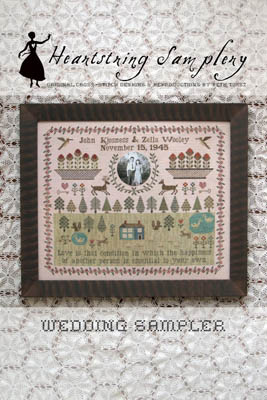Wedding Sampler - click here for more details about chart