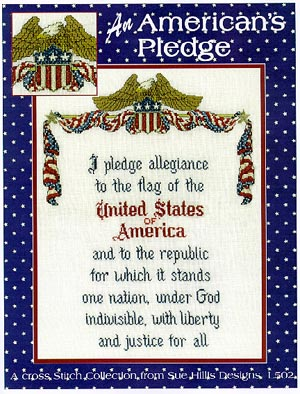 click here to view larger image of An  Americans  Pledge (chart)