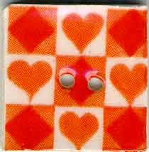 click here to view larger image of Orange Tic Tac Toe (buttons)