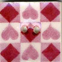 click here to view larger image of Rose Tic Tac Toe (buttons)