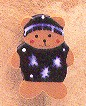 click here to view larger image of Blue Sweater Teddy (magnet)