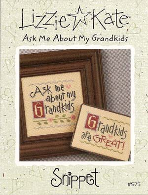click here to view larger image of Ask Me About My Grandkids (chart)