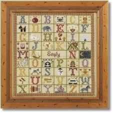 click here to view larger image of A to Z Sampler (KIT) (chart)