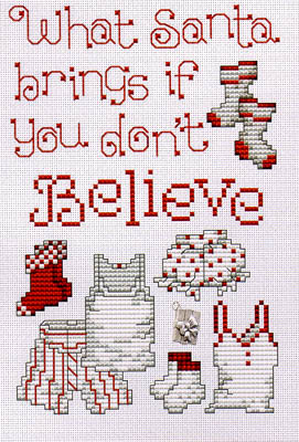 click here to view larger image of Believe (w/charm) (chart with charms/buttons)