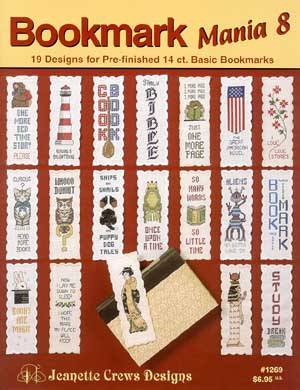 click here to view larger image of Bookmark Mania VIII (chart)