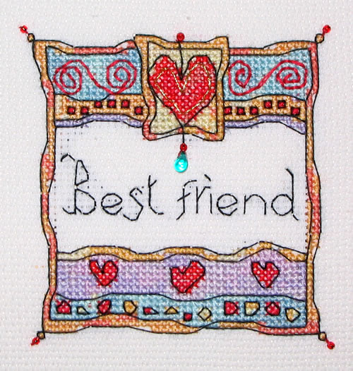 click here to view larger image of Best Friend (chart)