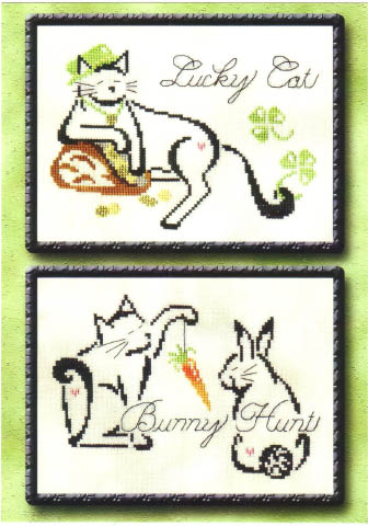 click here to view larger image of Britty Kitty Monthly Series - March /April (chart)