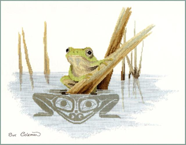click here to view larger image of Frog (chart)