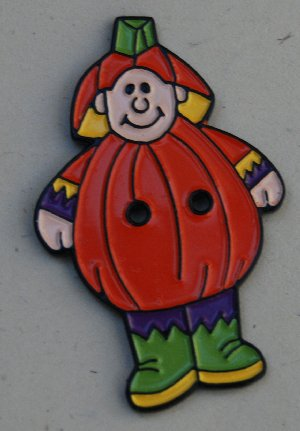 click here to view larger image of Jack-o-lantern Boy (buttons)