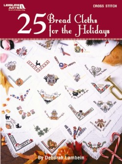 click here to view larger image of 25 Bread Cloths For The Holidays (chart)
